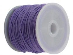 elastisch draad/stiek 1 mm lila