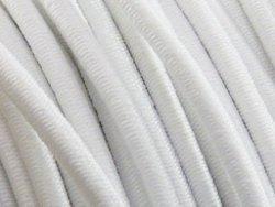 elastisch draad/stiek 3 mm wit