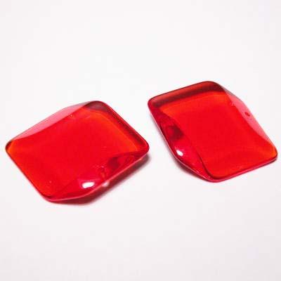 acryl ruit rood 28 mm