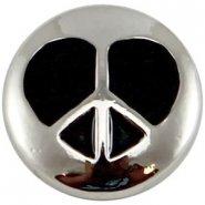 Easy button hart zwart