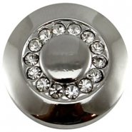 Easy button crystal strass