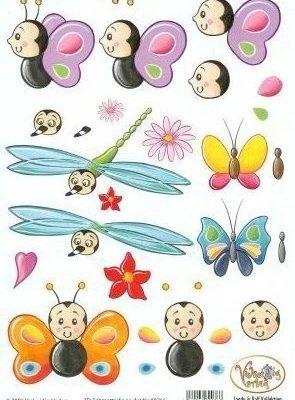 knipvel vlinder