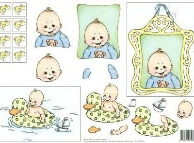 knipvel vera design baby jongen