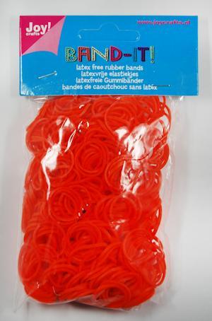 Joy! Band-it! elastiekjes oranje
