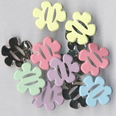 brads bloem voor linten 25 mm assorti