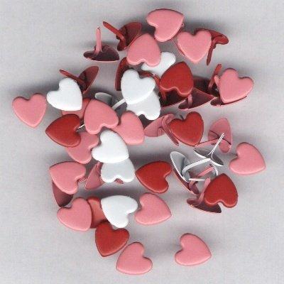 brads hart 12 mm rood tinten