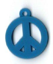 Add-ies peace teken blauw