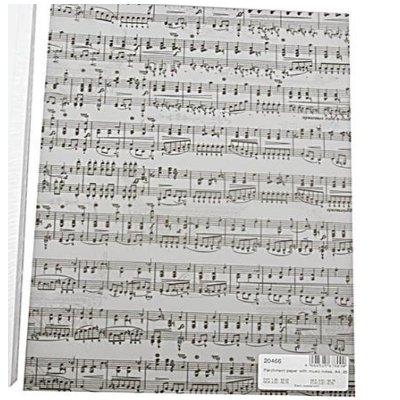 Papier muzieknoten A4