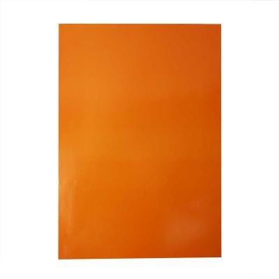 Glanspapier 32x48 cm oranje