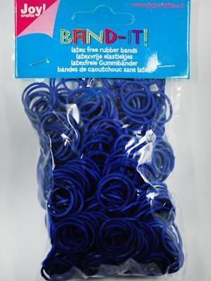 Joy! Band-it! elastiekjes d.blauw