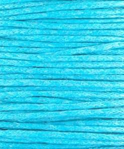 Waxkoord 1.5mm Turquoise (1M)