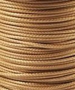 Waxkoord 1.5mm Cognac bruin (1M)