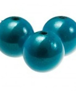 3D Miracle beads 12mm Turquoise