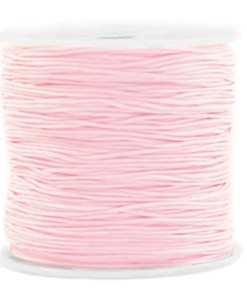 Macramé draad 0.8mm Light pink
