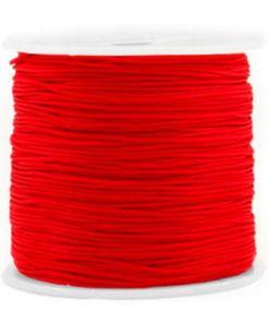 Macramé draad 0.8mm Red