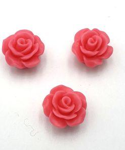 Acryl kraal roos Roze 9mm