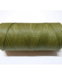 Braziliaans polyester waxkoord 1mm olive geen
