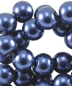DQ Glasparels 12mm Blauw hollands