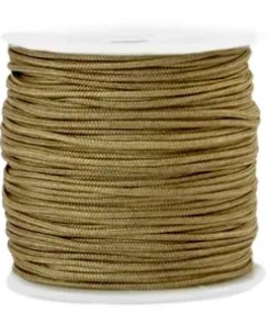 Macramé draad 1.5mm Incense brown