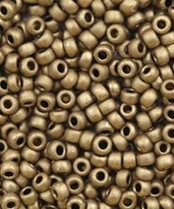 Miyuki rocailles 8/0 Metallic matte dark bronze 8-2006