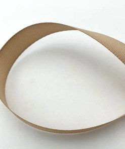Polyester band 10mm Beige bruin