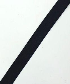 Polyester band 22mm zwart