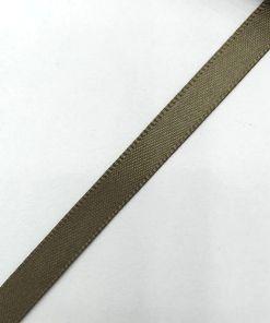 Dubbelzijdig Satijnlint 6mm Army green