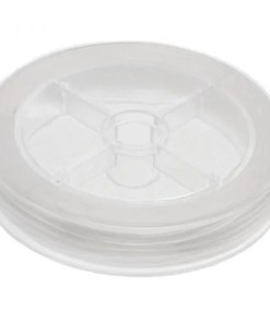 Elastiek (0.5 mm) Transparent (25 Meter)