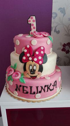 Dětský dort s Minie