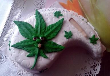 Smokey cake :)