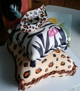 Luxusní dort s maskou