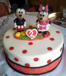 Dětský dort Mickey & Minnie