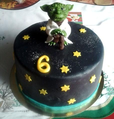 Dětský dort Star Wars Master Yoda
