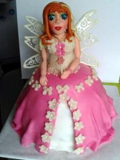 Dětský dort - princezna