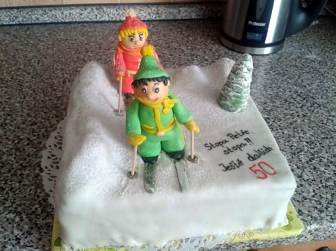 Skvělý narozeninový dort pro skvělého manžela