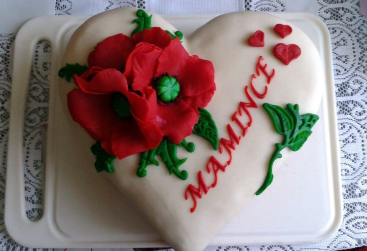 Narozeninový dort pro maminku