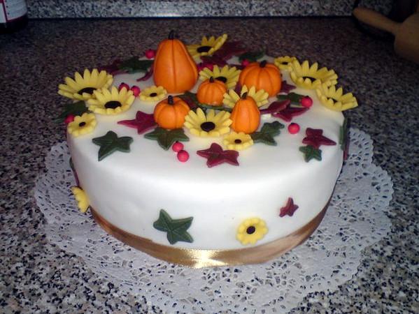 Speciální podzimní dort