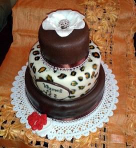 Svatební dort s čokoládou