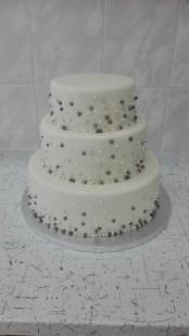 Svatební s perličkami