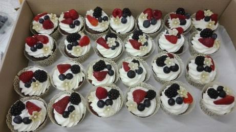 svatební cupcake