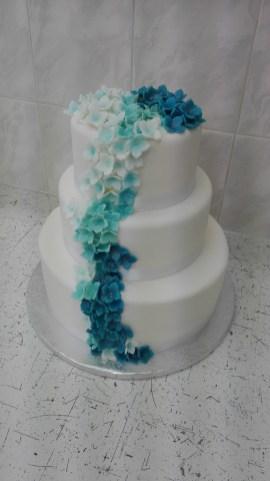 Svatební s hortenziemi