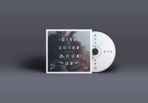 Retro CD Cover