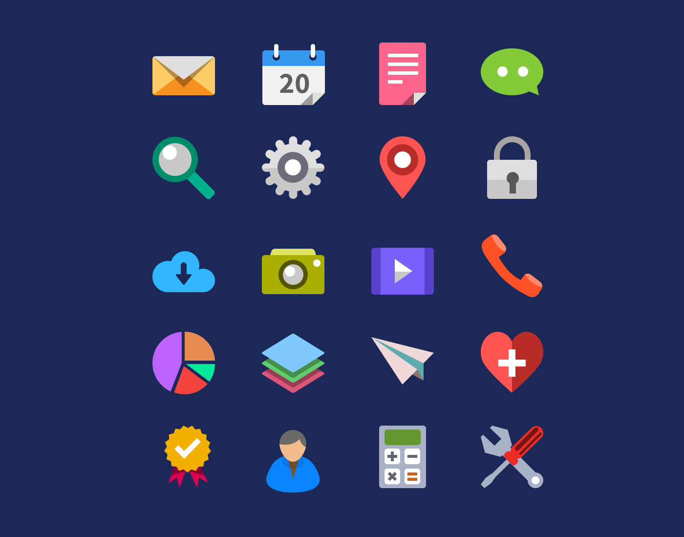 flat-free-icons