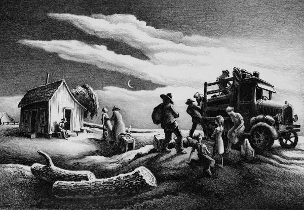 Thomas Hart Benton Great Depression