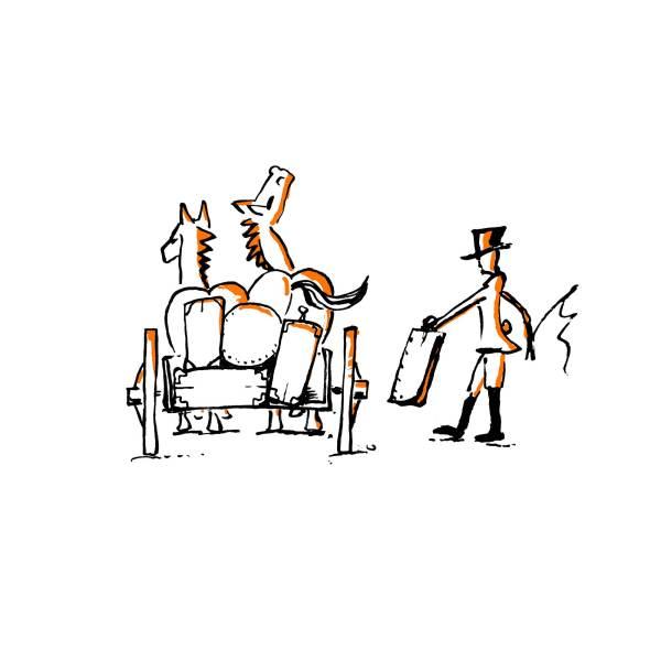 Reiters Kutsche