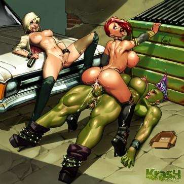 Spider Gwen, Black Widow & She-Hulk!