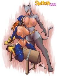 SLUTTISH_Batgirl_Catwoman