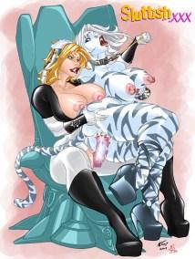 SLUTTISH_Ultrawoman_Warcat