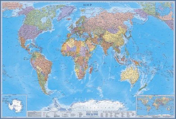 карта мира 1