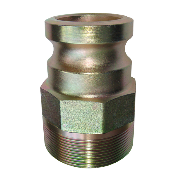 Male adapter with male thread